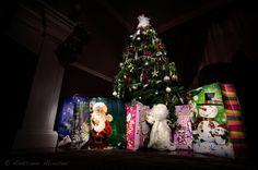 Christmas tree light painting!!!