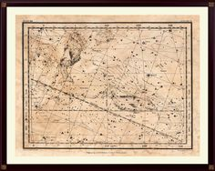 Pisces Constellation Print, Astrological Sign, Astronomy Decor, Constellation Map, Pisces Zodiac Print, Astrology Gifts, Astronomy Art by DicosLand on Etsy