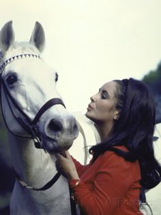 Elizabeth Taylor and horse Celebrities Famous People Riding Horses. Edward Wilding, Golden Age Of Hollywood, Classic Hollywood, Old Hollywood, Hollywood Cinema, Hollywood Stars, Stars D'hollywood, Photo Star, Funny P