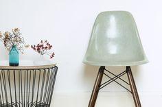 Chaise Eames DSW Seafoam Green