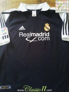 2ab831980 Relive Real Madrid s 2001 2002 La Liga season with this original Adidas  away football shirt