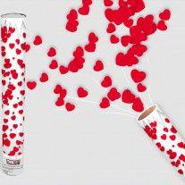 80 cm Rouge Confettis Canon Confettis Shooter