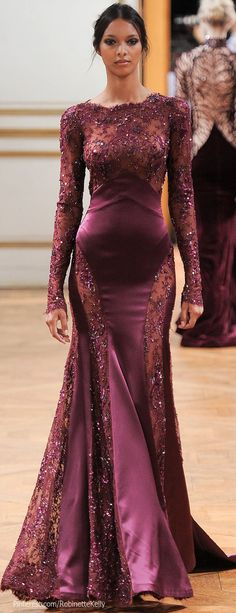 Zuhair Murad Haute Couture | F/W 2013 I'm not sure where I would wear this but I need this dress.