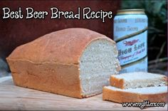 Easiest and Best Beer Bread Ever - Only 3 ingredients! Who said that making Beer Bread is hard? (because it's not this this recipe) http://mylitter.com/recipes/the-easiest-and-best-beer-bread-recipe-3-ingredients/