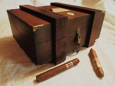 PERDOMO HUMIDOR 50 Cigars by RoyalPalmHumidors on Etsy