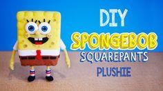 Make Your Own SpongeBob Squarepants Plushie!