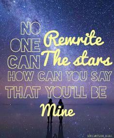 Rewrite the stars by zac efron And zendaya