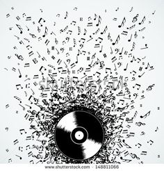 Find Dj Vinyl Record Music Notes Splash stock images in HD and millions of other royalty-free stock photos, illustrations and vectors in the Shutterstock collection. Music Logo, Vinyl Music, Dj Music, Vinyl Art, Music Notes, Vinyl Records, Neue Tattoos, Music Tattoos, Quote Tattoos