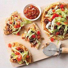 Taco Pizza   MyRecipes.com