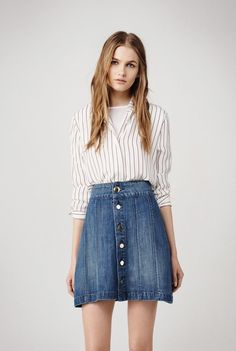 denim and stripes - my ultimate summer look for 2015!