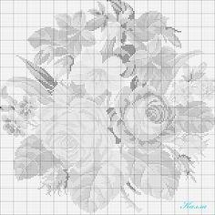 Gallery.ru / Фото #6 - Колокольчики,розы и космеи - Kalla
