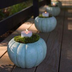 Pumpkin Planter, Flower Decorations, Table Decorations, Garden Planters, Fall Planters, Outdoor Garden Furniture, Fall Halloween, Terracotta, Outdoor Gardens