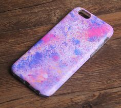 Abstract Color Panting Tough Protective iPhone 6s Case iPhone 6 plus S7 Edge SE Snap Case 234
