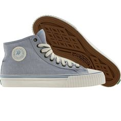 PF Flyers Center High (faded denim) Shoes PM12OH1B | PickYourShoes.com