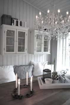 About this chandelier ... go big or go home.  Love love love it.