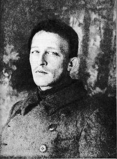 А.А. Блок. Октябрь 1918 года