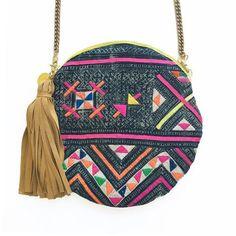 Jowani // GAIA roundies are made from vintage + repurposed fabric by resettled refugee women living in Dallas // www.gaiaforwomen.com