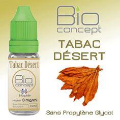 E-liquide 10ml BIO CONCEPT TABAC DESERT
