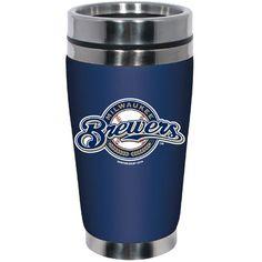 MLB Milwaukee Brewers Stainless Steel Travel Tumbler with Neoprene Wrap, 16-Ounce, Team Color Hunter Mfg. LLP $22.99 http://www.amazon.com/dp/B00JPNAKRG/ref=cm_sw_r_pi_dp_Sn13vb0EQ0GGG