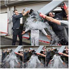 Lewis Hamilton aceptó el #ALSIceBucketChallenge de Daniel Ricciardo  #AutoBildMexico