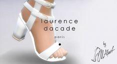 Dacade Sandals by MrAntonieddu at MA$ims4 via Sims 4 Updates
