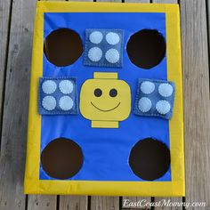 East Coast Mommy: The {Ultimate} DIY LEGO Party  Great game ideas