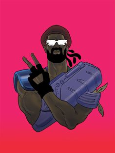 Major Lazer Art