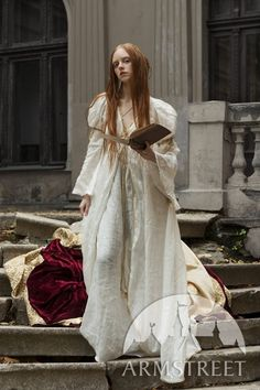 Renaissance Nobility Velvet Dress by Armstreet