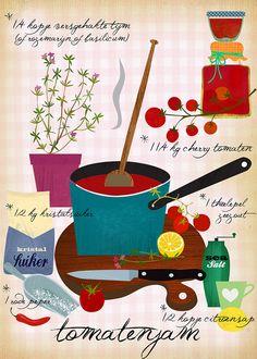 tomato Jam FLOW MAGAZINE SEPT 2012 by Sevenstar aka Elisandra, via Flickr