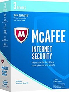 McAfee Internet Security 3 Devices 3 Users | Sunnyvale