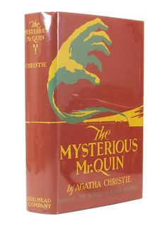 """The Mysterious Mr. Quin."" viaLibri ~ First Edition"