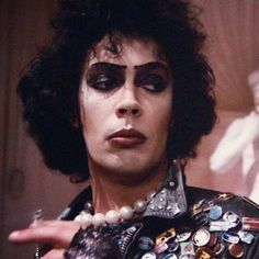 Tim Curry en The rocky horror picture show.