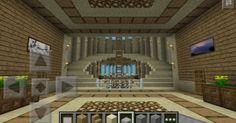 Stunning Modern Mansions – My Life Spot Minecraft Blueprints, Minecraft Houses, Minecraft Ideas, Play Minecraft, Minecraft Stuff, Minecraft Staircase, Modern Mansion Interior, House Window Design, Minecraft Interior Design