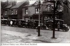 H Holtoms in Albert Road Stechford Birmingham UK.
