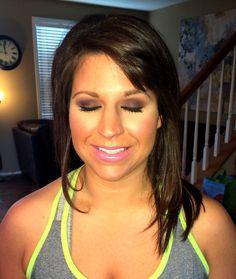 Smokey eye makeup. Mac cosmetics. Engagement pictures. Wedding makeup.
