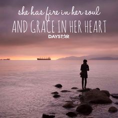 She has fire in her soul and grace in her heart. Virtuous Woman, Godly Woman, Psalm 31, Perfect Sayings, Invisible Crown, Fear Of The Lord, Daily Thoughts, Daughters Of The King, Perfection Quotes