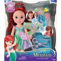 "Disney Toddler Hair Play Set- Ariel - Tolly Tots - Toys ""R"" Us"