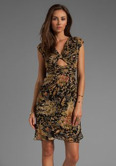 Anna Sui Spring Meadow Birds Combo Print Crepe Dress in Black Multi http://www.revolveclothing.com/DisplayProduct.jsp?product=ASUI-WD140&c=Anna+Sui