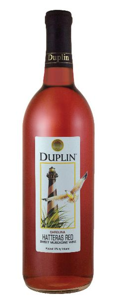 This traditional southern Muscadine red is consistently one of North Carolina's best selling wine. Pleasantly sweet and intense with fruit, Duplin Winery's Hatteras Red brings back memories of old southern stately mansions, warm sunshine, and gracious hospitality.