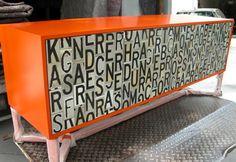 Letter Love!  #Modern #furniture