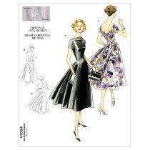 Misses Dress Vogue Pattern 1084.
