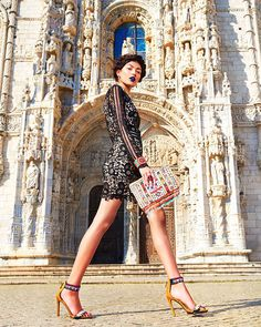 """A Vibrant Soul"" with Sasha Pereira  Entrance to Chapel of San Jeronimos"