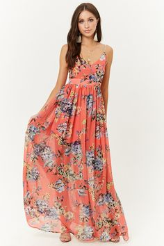 Floral Print Maxi Dress, family photography Mom dress!
