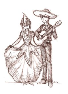 This is adorable. Toothiana and Jack Frost