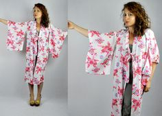 Kimono / Kimono Robe / Japanese Kimono / Kimono Jacket Duster