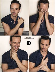 Andrew Scott - I know he's gay, but a girl can always dream the impossible dream!  AND he got a great review for Hamlet from Ben Brantley in the NYT!
