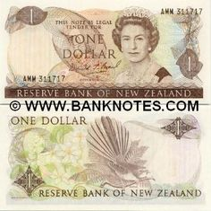 New Zealand 1 Dollar Front: HM Queen Elisabeth II; Back: Clematis plant; Nz History, One Dollar, Dollar Coin, Clematis Plants, New Zealand Houses, Elisabeth Ii, State Of Arizona, Old Money, Kiwiana