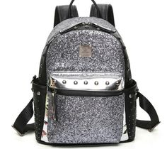 Cheap sequin backpack, Buy Quality rivet backpack directly from China backpack fashion Suppliers: Glitter Woman's Rivet Backpack Fashion High Capacity Dazzling Bling Sequins Backpack Girl's Preppy Sparkling School Bag B251