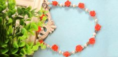 How to Make Your Own Polymer Clay Red Rose Beaded Necklace for Spring