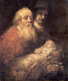 Simeon with Jesus 1669
